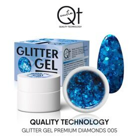 QT Glitter Gel Premium Diamonds №5, 7 гр