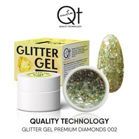 QT Glitter Gel Premium Diamonds №2, 7 гр